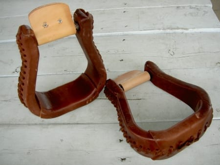 Steve Edwards Saddle Stirrups for Mules