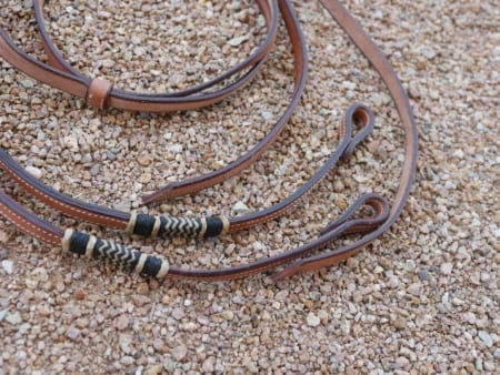 Custom Split Reins - View 3 - Mule Ranch