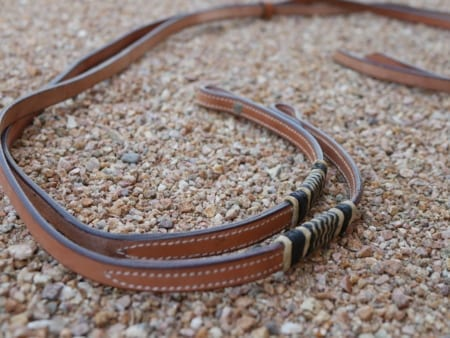 Custom Split Reins - View 4 - Mule Ranch
